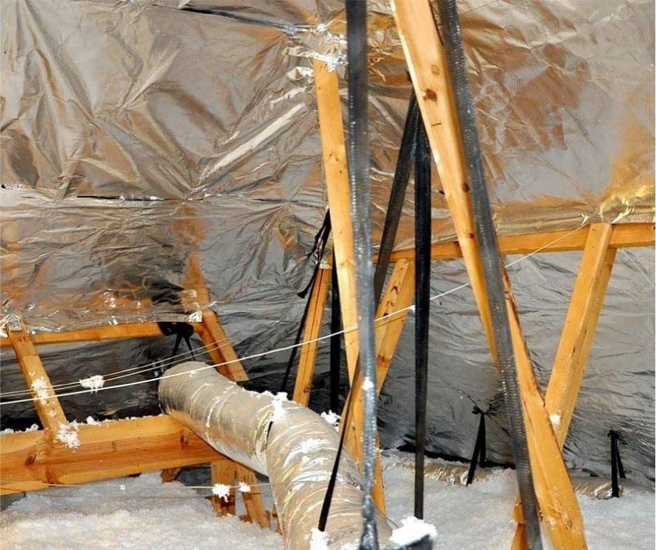 Radiant Barrier attic insulation